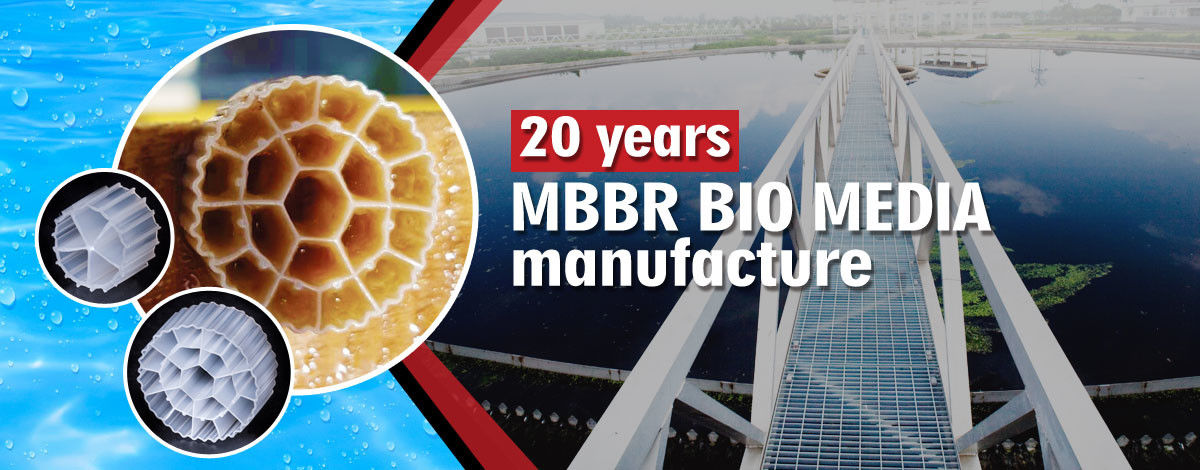 China am besten MBBR-Biomedien en ventes