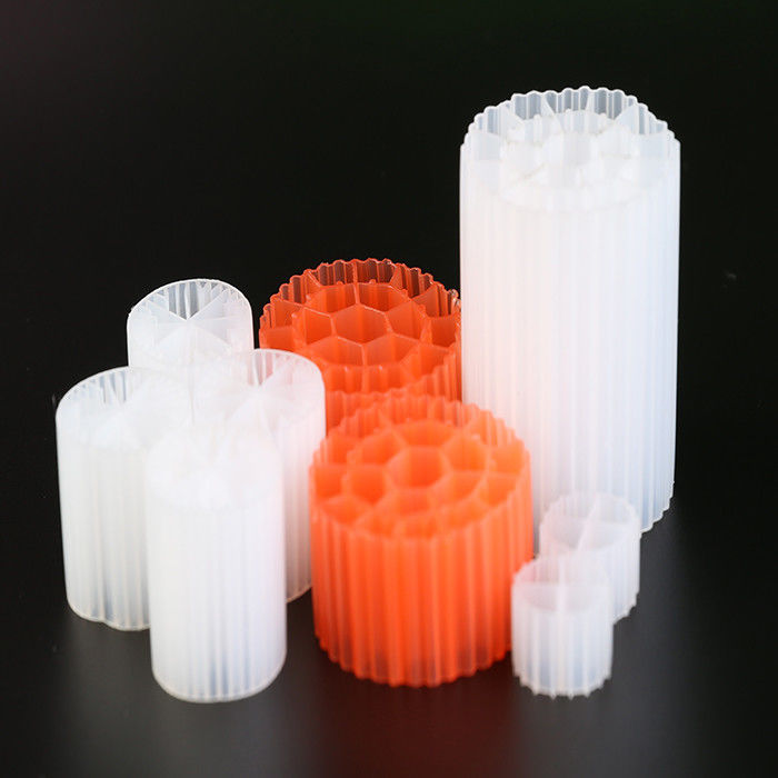 White Color PE07 HDPE K1 Filter Media Moving Bed Biofilm Reactor