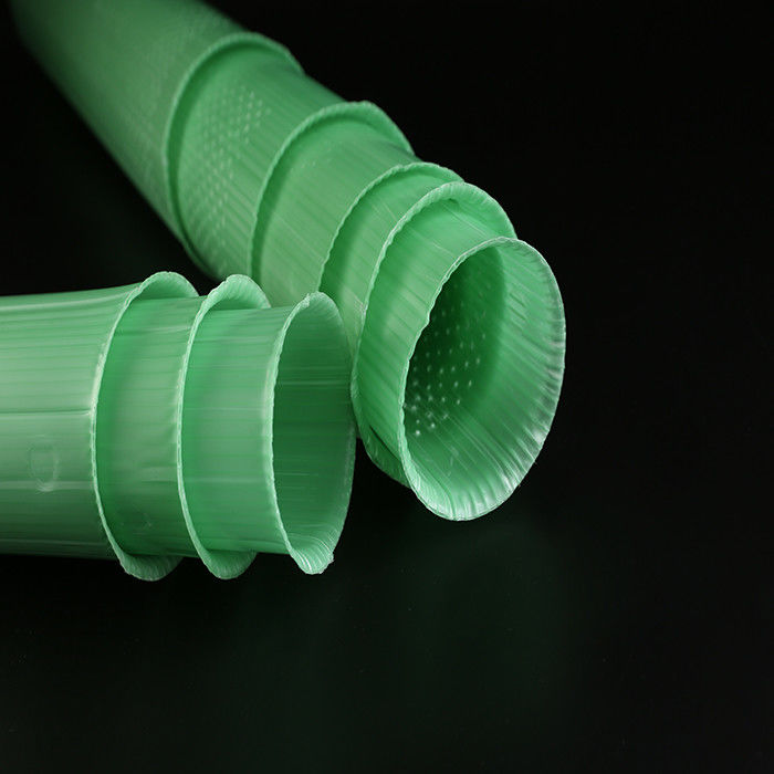 Green Color Plastic Spiral Tree Guards 60cm Young Tree Protectors