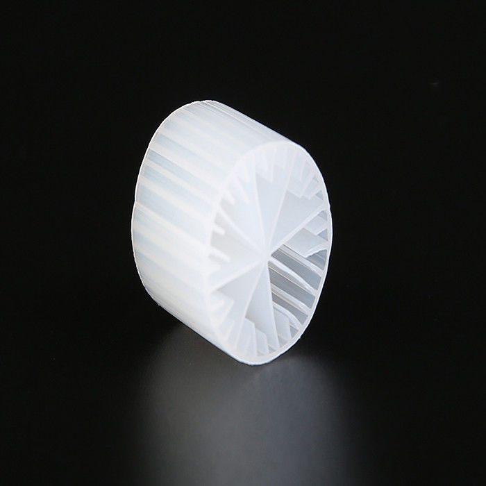 High Surface Area MBBR Filter Media White Color Virgin HDPE Material